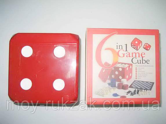 "Игра настольная ""6 in Game in  Cube"" 6 в 1, фото 2"