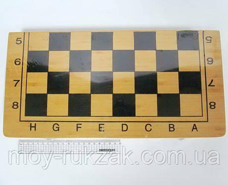 """Игра """"Шахматы, шашки, нарды 3 в 1"""", деревянная коробка 50*50 см., фото 2"""