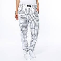 Женские брюки в белом цвете от JUNKYARD XX-XY Byxa  Lonn Pants в размер М
