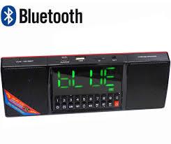 Портативная MP3 колонка Часы  USB  Радио  Bluetooth  WS-1515BT   Акция !!!