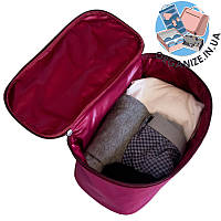 Прямоугольный органайзер для туалетных принадлежностей ORGANIZE (винный)