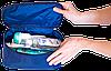 Мужской органайзер для туалетных принадлежностей ORGANIZE  (синий), фото 3