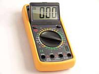 Цифровой мультиметр DT9208, измерительные приборы, мультиметры, тестеры