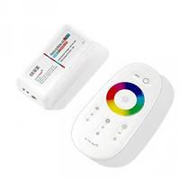 Контроллер RGB OEM 18А-2.4G-Touch белый, фото 1