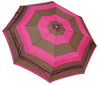 Стильный женский зонт 3674 pink/grey