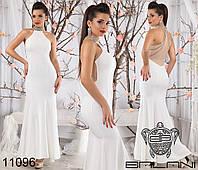 Эксклюзивное платье,декорировано дорогим украшением- камни со стразами.