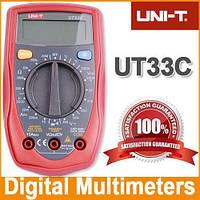 Компактный цифровой мультиметр UNI-T UTM 133C (UT33C) , измерительные приборы, мультиметры