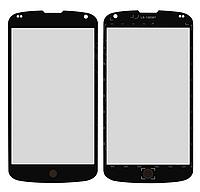 Стекло корпуса для мобильного телефона LG E960 Nexus 4, черное