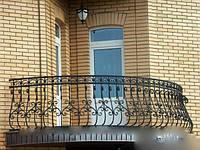 Перила кованые на балкон арт.кп 30