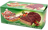 Шоколадные  вафли Choco Wafer Hazelnut  Papagena, 110 гр
