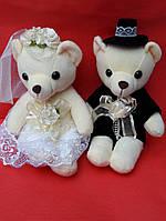 Мягкая игрушка медведи, пара жених и невеста