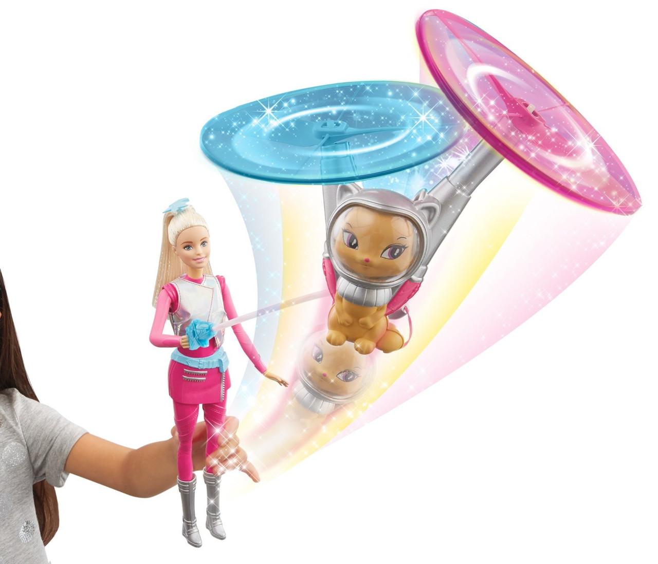 Кукла Барби с летающим космическим котиком Приключение Звездного Света Barbie Star Light Galaxy Barbie Doll