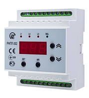 Трехфазное реле напряжения и контроля фаз РНПП-302 Новатек-Электро