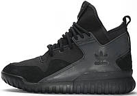 Мужские кроссовки Adidas Tubular X Core Black Running, адидас