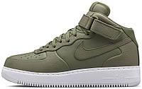 Мужские кроссовки Nike Air Force 1 Mid (Urban Haze, найк, айр форс