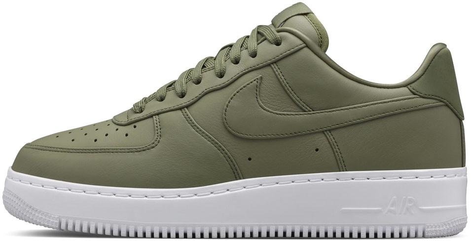 Женские кроссовки Nike Lab Air Force 1 Urban-Haze 555106-300, Найк Аир Форс