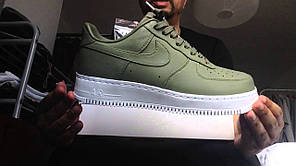 Женские кроссовки Nike Lab Air Force 1 Urban-Haze 555106-300, Найк Аир Форс, фото 3