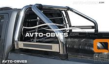 Защитная дуга в кузов Фольцваген Амарок одинарная с защитой кабины