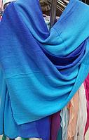 Шарф женский шерстяной трикотаж