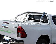Защитная дуга в кузов Тойота Хайлюкс 2015-...