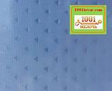 Шторка для ванной комнаты Shower curtain, однотонная голубая. Размер 180х180 см., фото 3