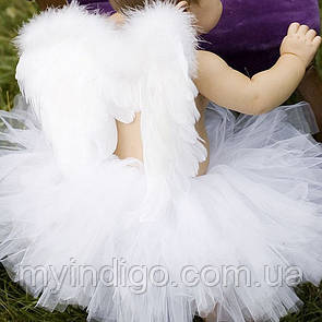 Юбка пачка c крыльями ангела
