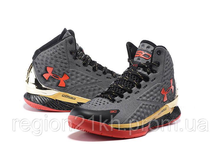 Баскетбольные кроссовки Under Armour Curry One Grey Red