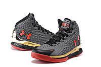 Баскетбольные кроссовки Under Armour Curry One Grey Red, фото 1