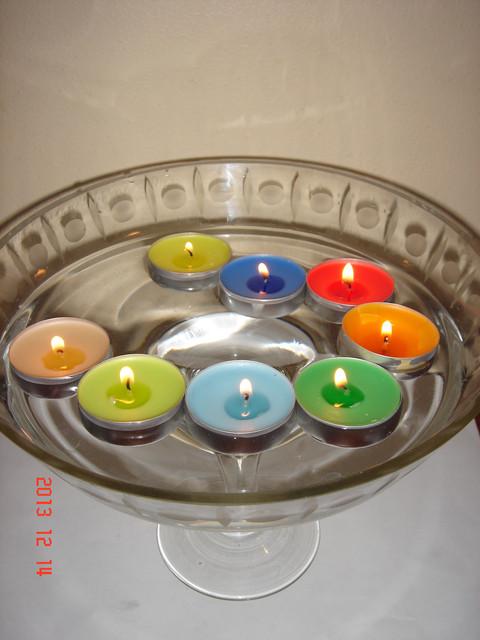 Свеча плавающая (арома)