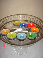 Свеча плавающая (арома), фото 1