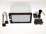 2din магнитола Pioneer pi-7023 gps + камера + карта памяти 8гб + пульт на руль + шахта и рамка, фото 3