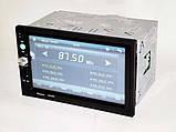 2din магнитола Pioneer pi-7023 gps + камера + карта памяти 8гб + пульт на руль + шахта и рамка, фото 6