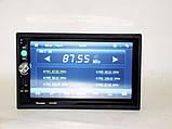 2din магнитола Pioneer pi-7023 gps + камера + карта памяти 8гб + пульт на руль + шахта и рамка, фото 7