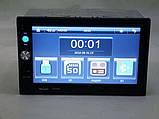 2din магнитола Pioneer pi-7023 gps + камера + карта памяти 8гб + пульт на руль + шахта и рамка, фото 8