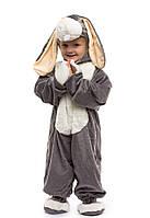 Костюм зайчика серого для детей от 0,5 до 2,5 лет