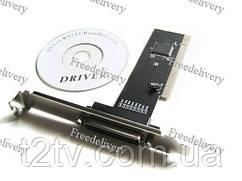 Контроллер PCI - LPT параллельный порт DB25 IEEE