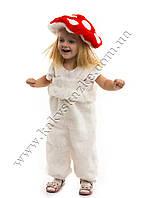 Костюм гриб мухомор для детей от 2 до 3 лет