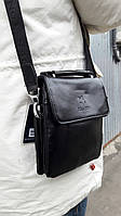 Мужская стильная  сумка JUES TONI (средняя). Сумка-планшетка - сумка через плечо.
