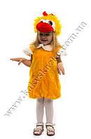 Костюм цыпленка для детей от 2 до 3 лет