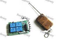 4-канальное беспроводное реле 12В, пульт, Arduino