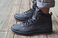 Мужские кроссовки Nike Lunar Force 1 серые