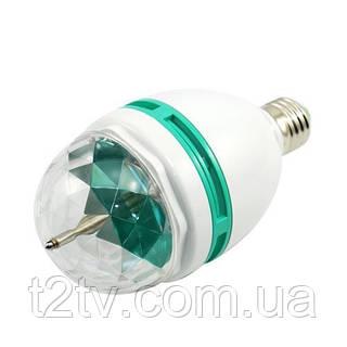 Вращающаяся LED лампа для вечеринок, 3Вт большая