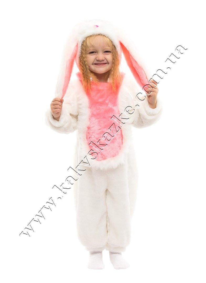 Костюм зайчика с розовыми ушами