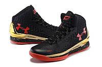 Баскетбольные кроссовки Under Armour Curry One Black Gold, фото 1