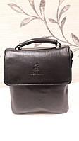 Мужская стильная  сумка JUES TONI (большая). Сумка-планшетка - сумка через плечо.