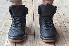 Мужские кроссовки Nike Lunar черные топ реплика, фото 3