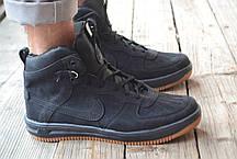 Мужские кроссовки Nike Lunar черные топ реплика, фото 2