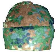 Шапка флисовая камуфляж (бундес флектарн)
