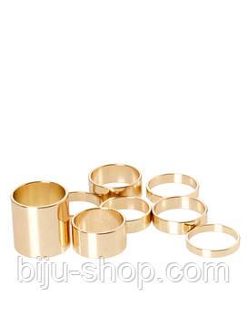 Набір Negro Asos Midi rings 8шт.