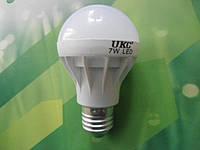 Лампочка LED LAMP E27 7W  UKC Энергосберегающая Круглая